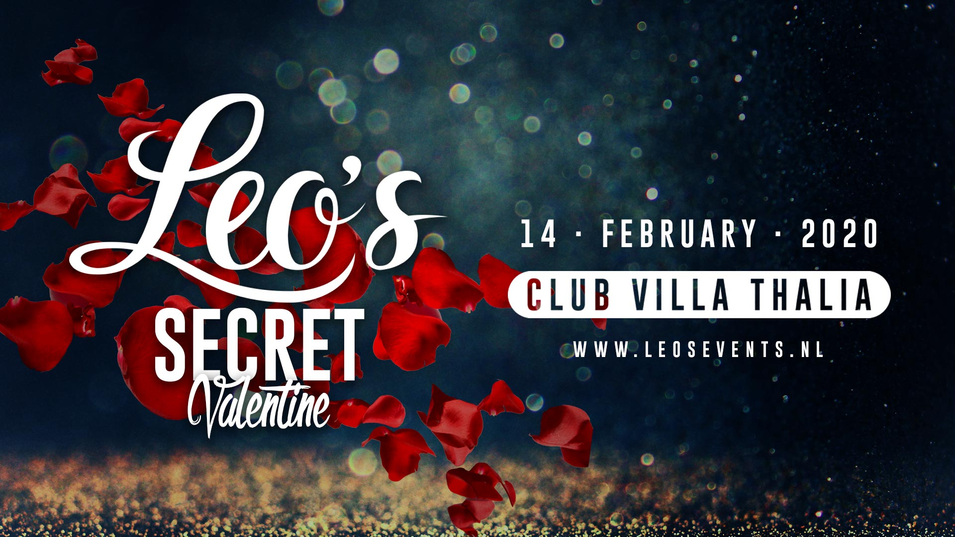 Early Bird tickets Leo's Secret Valentine 2020 available now